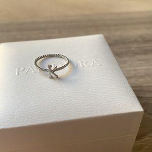 BRAND NEW Silver Ring K
